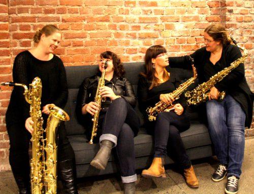 Urpremiere på sonate for saxofonkvartett