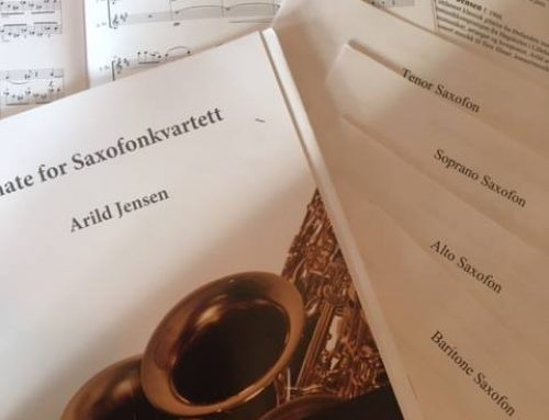 Utgivelse av Sonate for saxofonkvartett
